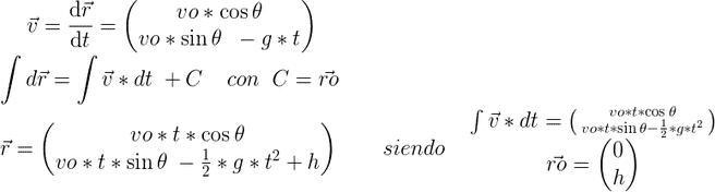 Cálculo de posición