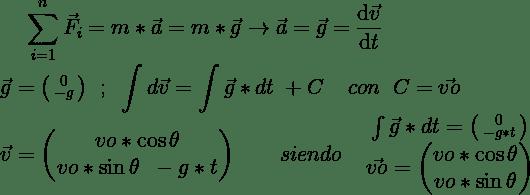 Cálculo de velocidad