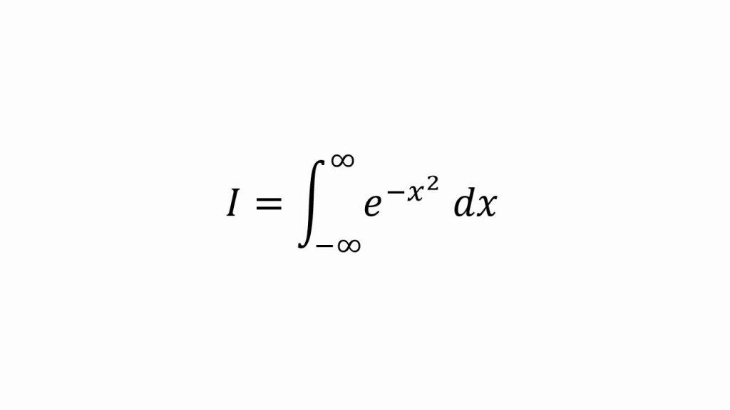 La Integral de Gauss 1