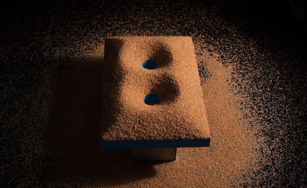 Ángulo de rozamiento interno: Trampas de arena y avalanchas 8