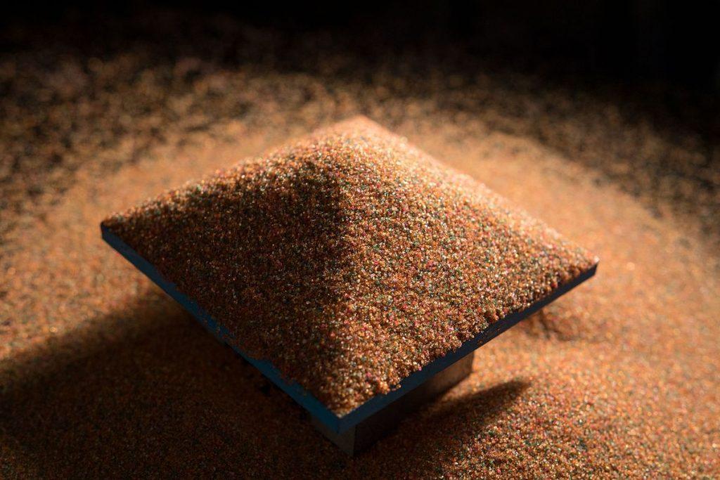 Ángulo de rozamiento interno: Trampas de arena y avalanchas 2