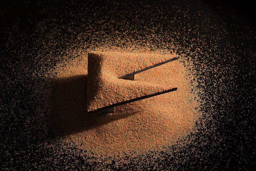 Ángulo de rozamiento interno: Trampas de arena y avalanchas 4