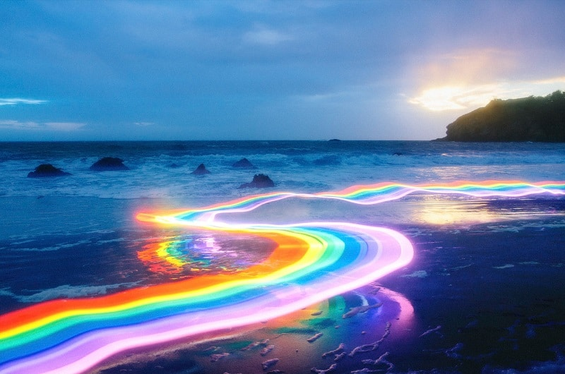 Portada del artículo del arcoiris