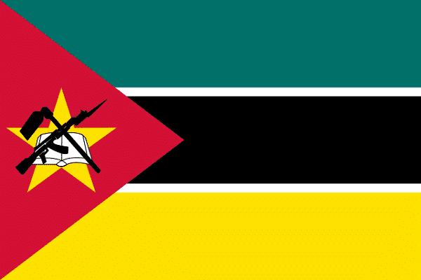 Bandera de Mozambique
