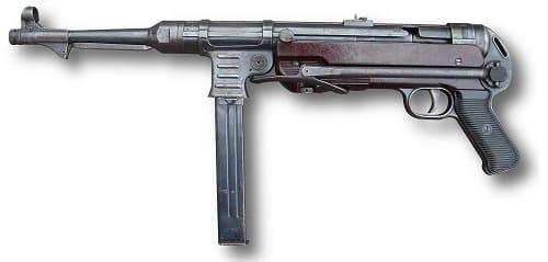 MP40 de perfil