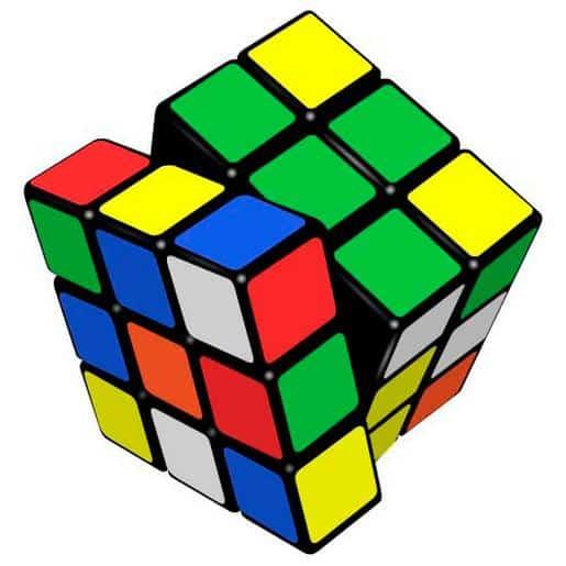 Foto del cubo de Rubik