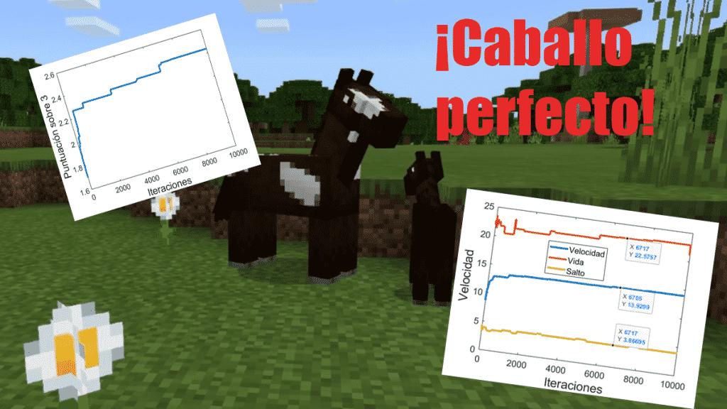 Portaba caballo perfecto minecraft